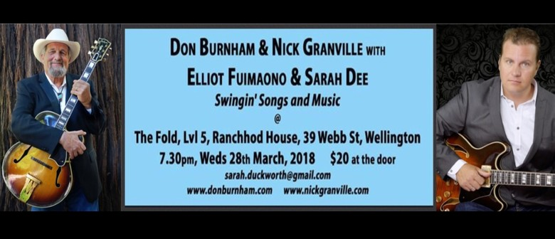 Don Burnham and Nick Granville