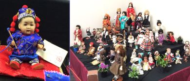 Rose City Porcelain Doll Club Bon Voyage Doll & Bear Show