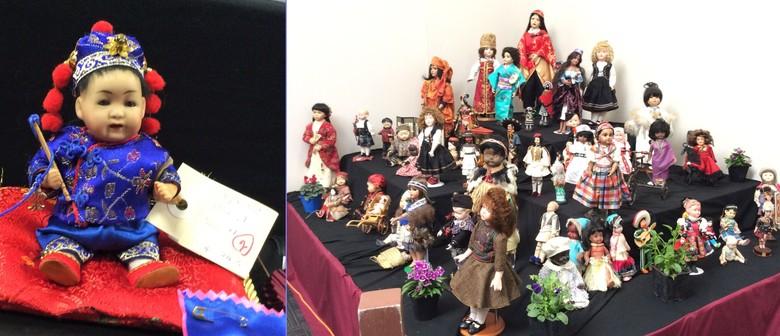 Rose City Porcelain Doll Club Bon Voyage Doll & Bear Show