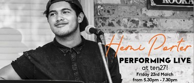 Live Music From the Talented Hemi Porter
