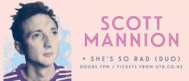 Scott Mannion + She's So Rad (Duo)