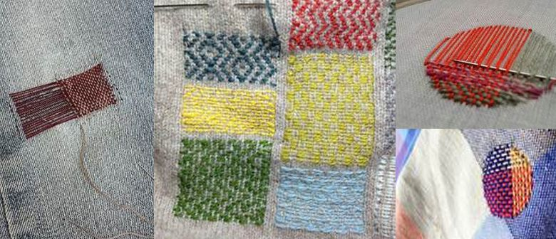 Rotorua Museum Craft Revival Café – Embellished Darning