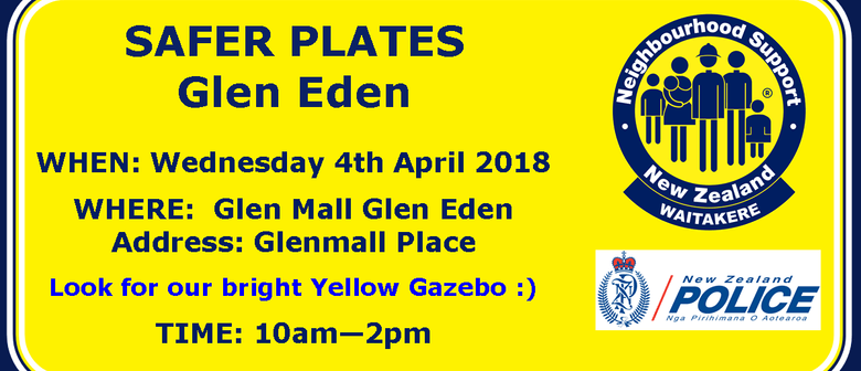 Safer Plates Event