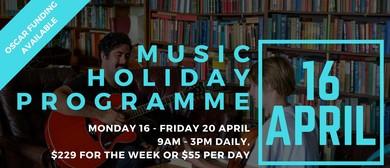 Music Holiday Programme (April Holidays)