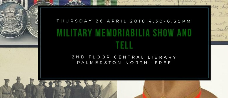 Military Memoriabilia Show and Tell