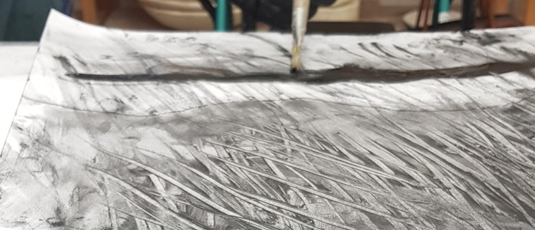 Studio One Toi Tū - A-Z Charcoal Drawing