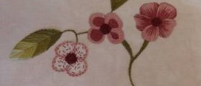 Stitch Embroidery Workshop With Jo Dixey
