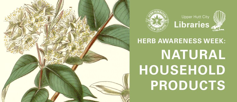 Herb Awareness Week: Natural Household Products