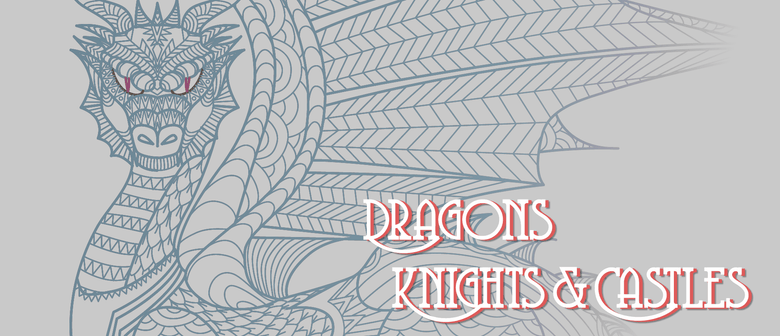 Children's French Holiday Fun - Dragons, Knights & Castles