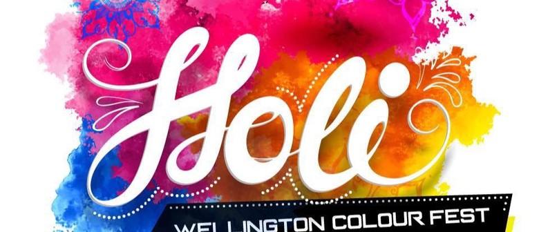 Holi Wellington Colour Fest 2018
