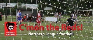 Cambridge v Onehunga Mangere Utd (Northern League Football)