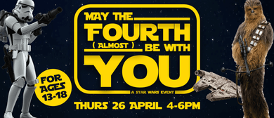 May the Fourth (Almost) Be With You!