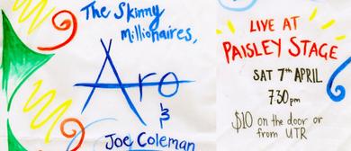 Aro, Joe Coleman & The Skinny Millionaires