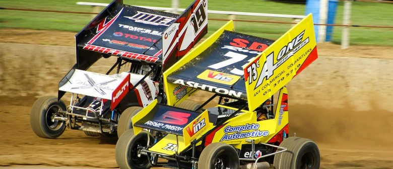 2017/18 Sprintcar War of the Wings Final + SS Stampede