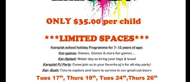Karsplat School Holiday Programme
