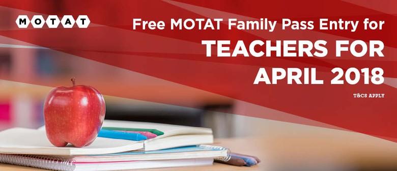 Teachers Free In April