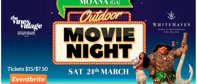 Whitehaven Wines Outdoor Movie - Moana (GA)