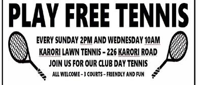 Play Free Tennis