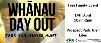 Sport Waitakere - Whanau Day Out - Park Scavenger Hunt