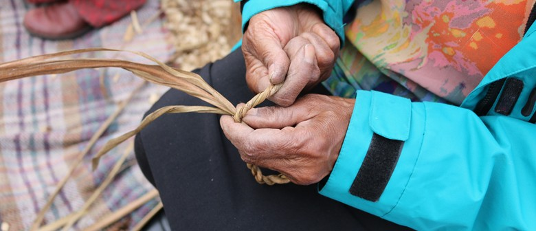 Rekindle Workshop: String & Rope-making - Tī Kōuka Leaves