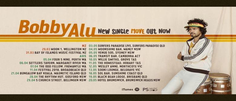 Bobby Alu - Move Tour
