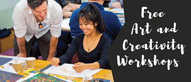Art and Creativity WorkshoP: SOLD OUT