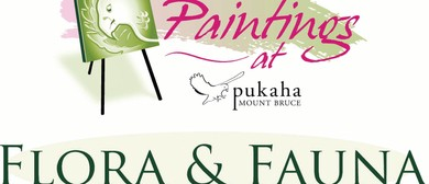 Paintings At Pukaha - Annual Fundraiser