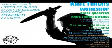 Krav Fighter The Knife Threats Self Defence Workshop