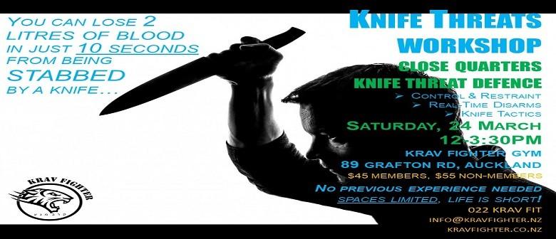 Krav Fighter The Knife Threats Self Defence Workshop