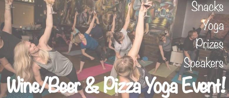 Wine/Beer & Pizza Yoga Event!