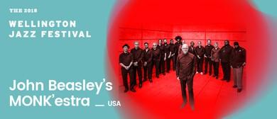 2018 Wellington Jazz Festival: John Beasley's MONK'estra