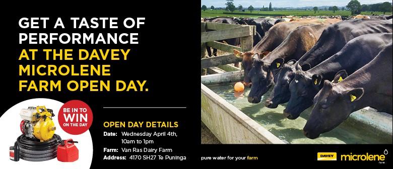 Davey Microlene Farm - Open Day