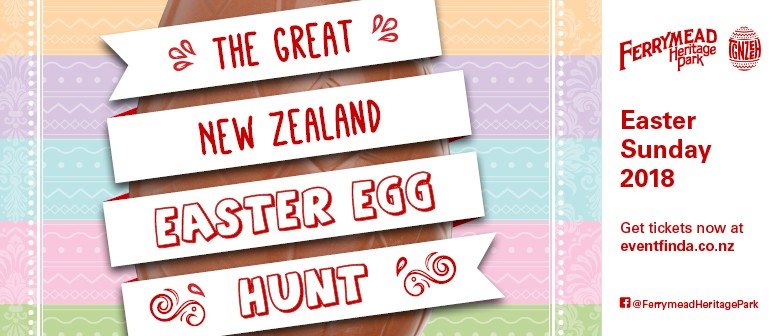 The Great New Zealand Easter Egg Hunt Christchurch Eventfinda