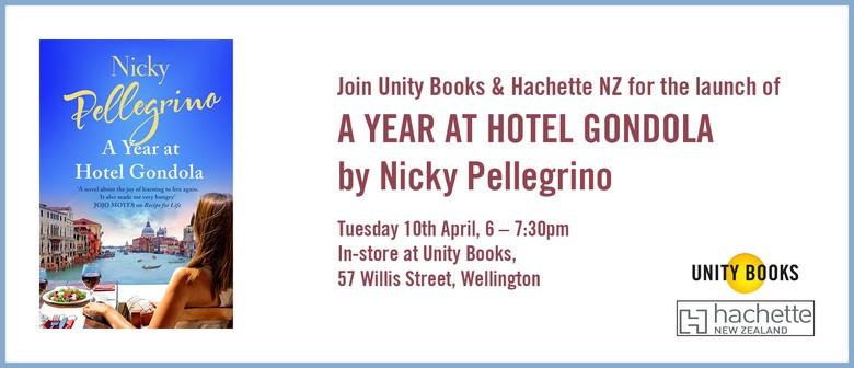 Launch - Nicky Pellegrino A Year at Hotel Gondola