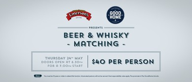 Emerson's Beer & Whisky Matching