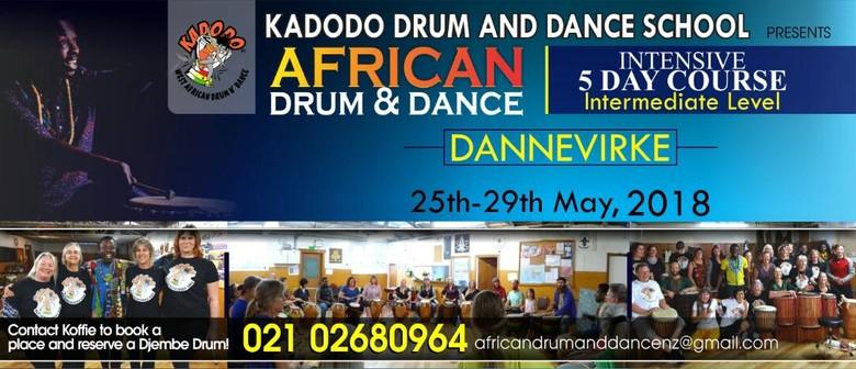 Kadodo Drum and Dance School - Intermediate Level