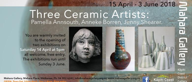 Three Ceramic Artists