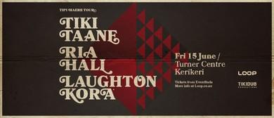 Tiki Taane, Ria Hall & Laughton Kora