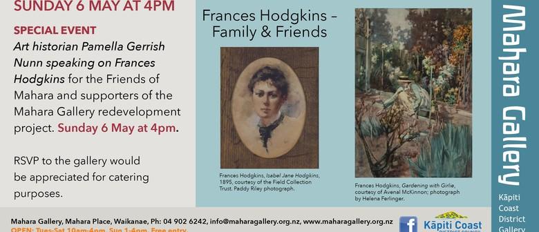 Pamella Gerrish Nunn Speaking On Frances Hodgkins