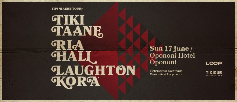 Tiki Taane, Ria Hall & Laughton Kora