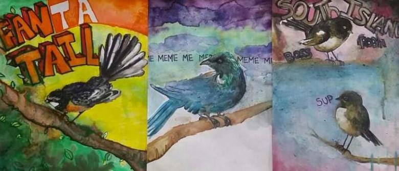 School Holiday Workshop - Birds & Words