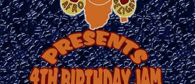 Afro Delight 4th Birthday Jam
