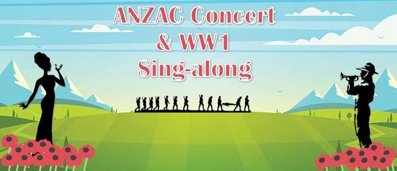 Te Awamutu Brass ANZAC & WW1 Sing-a-long