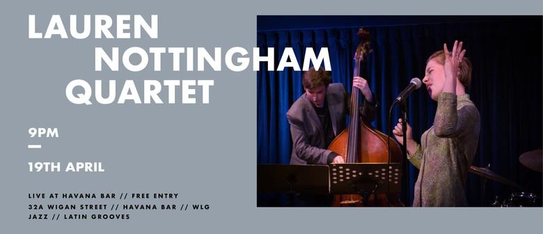 Lauren Nottingham Quartet