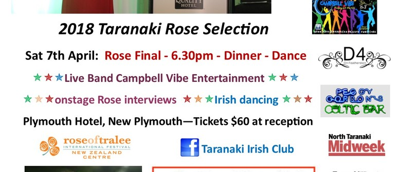 2018 Taranaki Rose of Tralee Selection