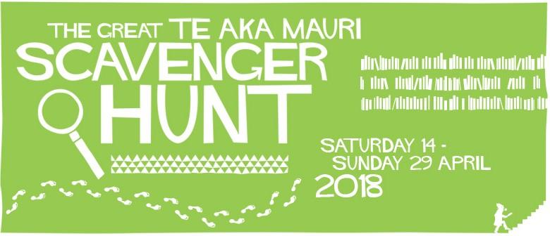The Great Te Aka Mauri Scavenger Hunt