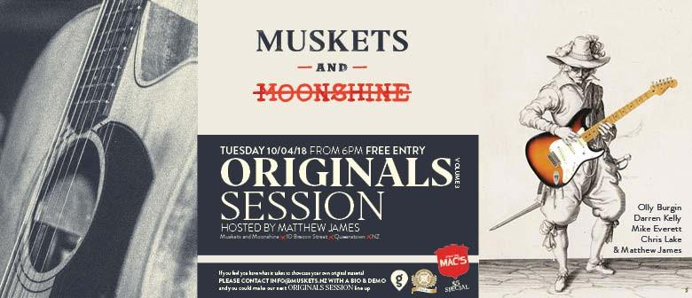 Originals Session Volume 3