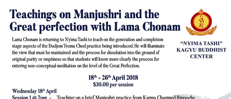 Teachings on Manjushri - Lama Chonam - Session 3