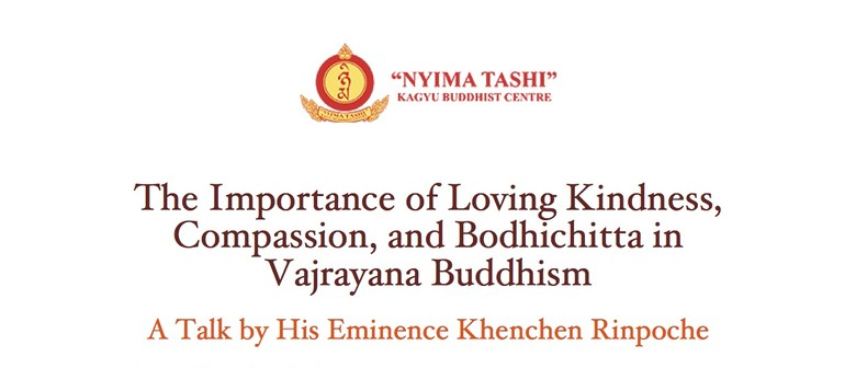 A Talk On Compassion by His Eminence Khenchen Rinpoche