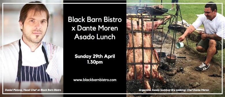 Black Barn Bistro x Dante Moren Asado Lunch
